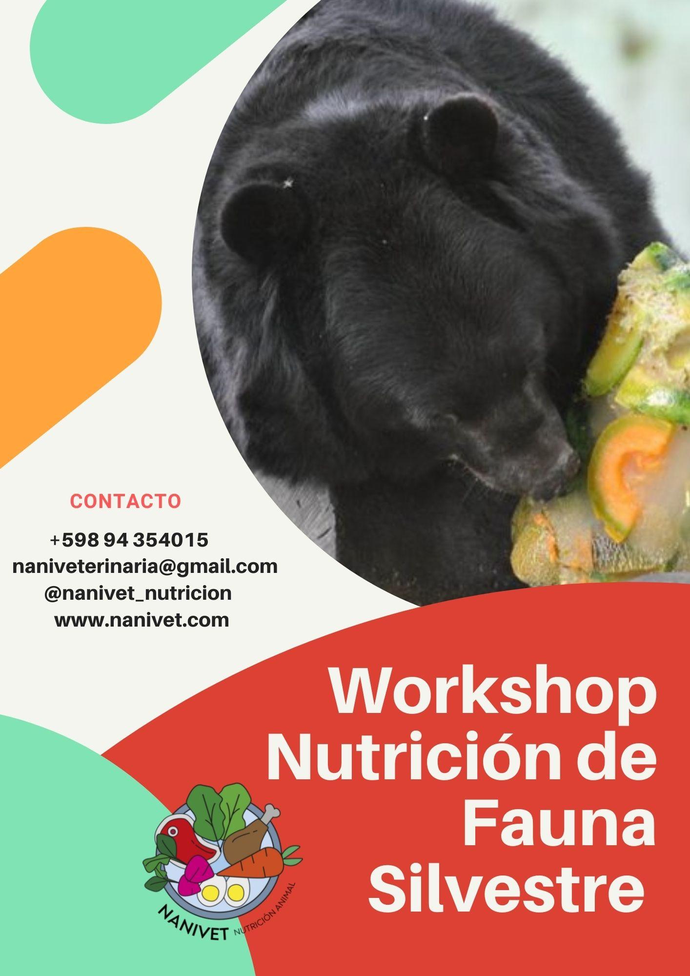 WorkShop Nutrición de Fauna Sep 2021